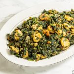 AFRICAN SPINACH STEW WITH CHICKEN AND SHRIMP