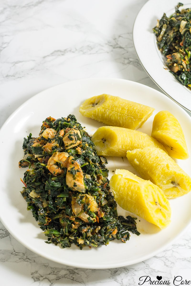 spinach stew Africa