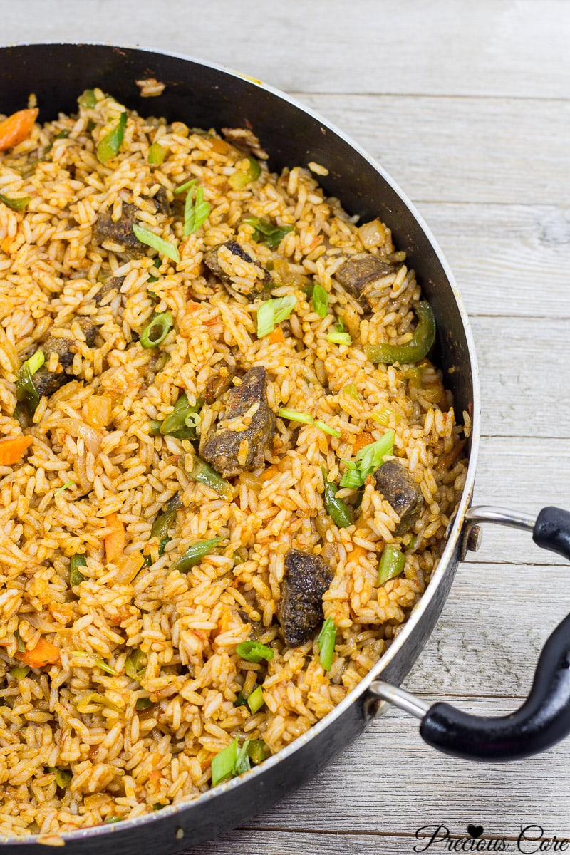 Jollof rice best recipe