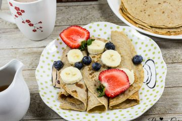 Healthy Banana Crepes Recipe