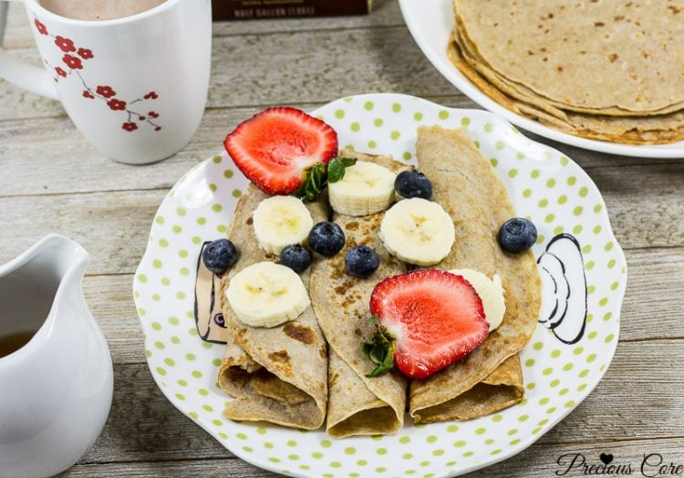 banana crepes healthy breakfast recipe precious core