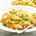 CHICKEN AND SHRIMP FRIED RICE – AFRICAN STYLE
