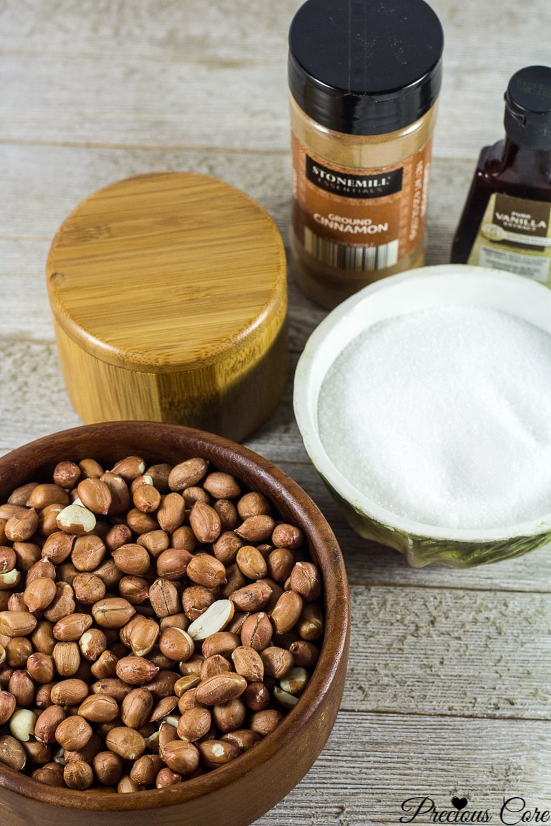 candied nuts ingredients