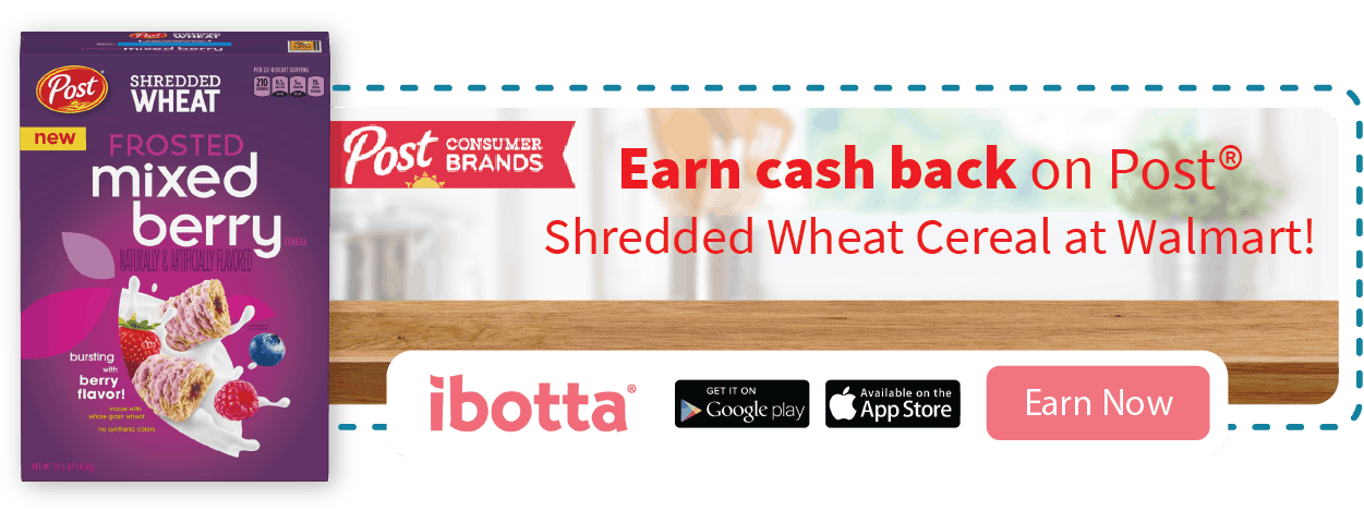 ibotta cereal offer