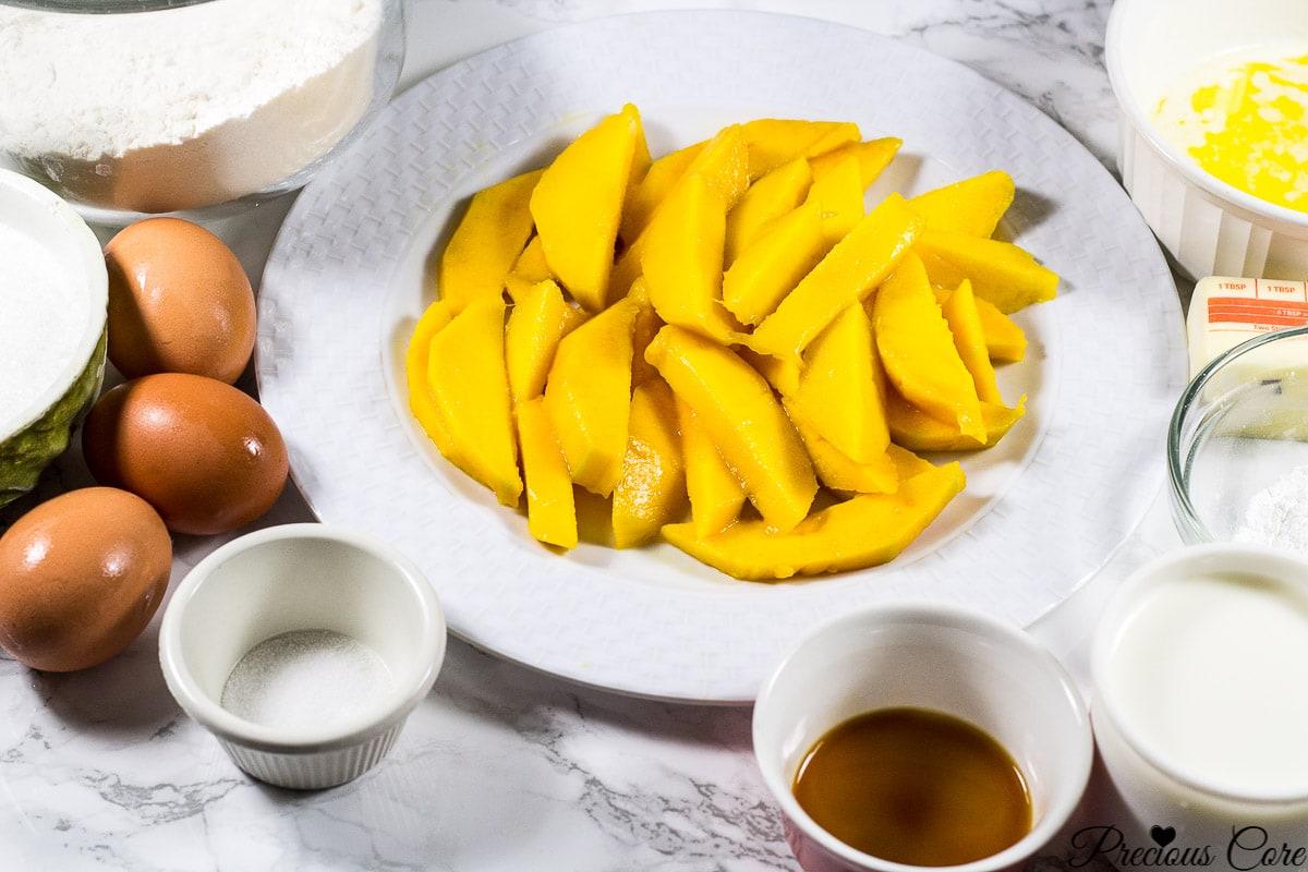 mango upside down