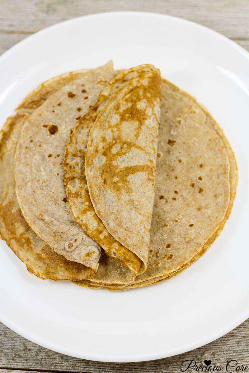 banana crepes healthy recipe