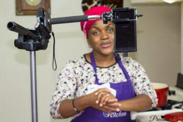garden egg sauce plus first YouTube LIVE on Precious Kitchen