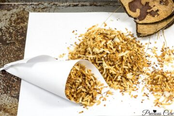 Toasting coconut flakes makes it nuttier and tastier. Enjoy toasted coconut flakes as is or add to your favorite cakes, cupcakes, cookies and more!