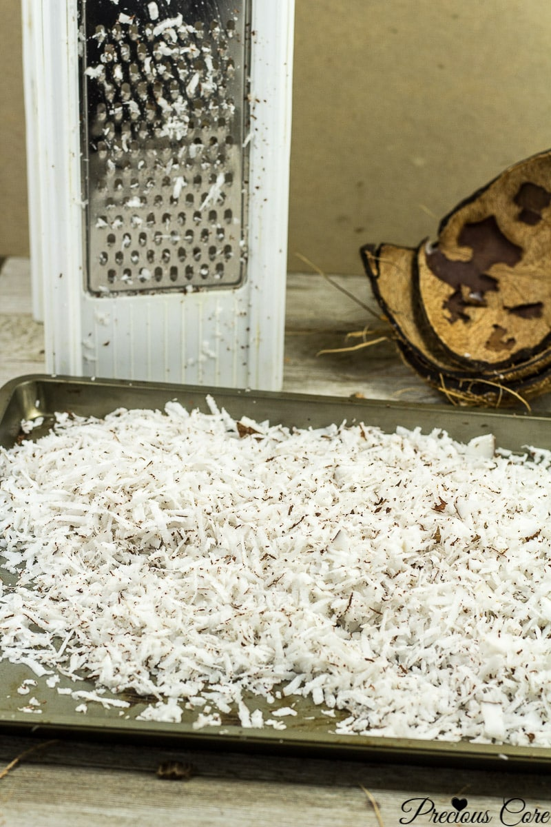 Homemade Shredded Coconut