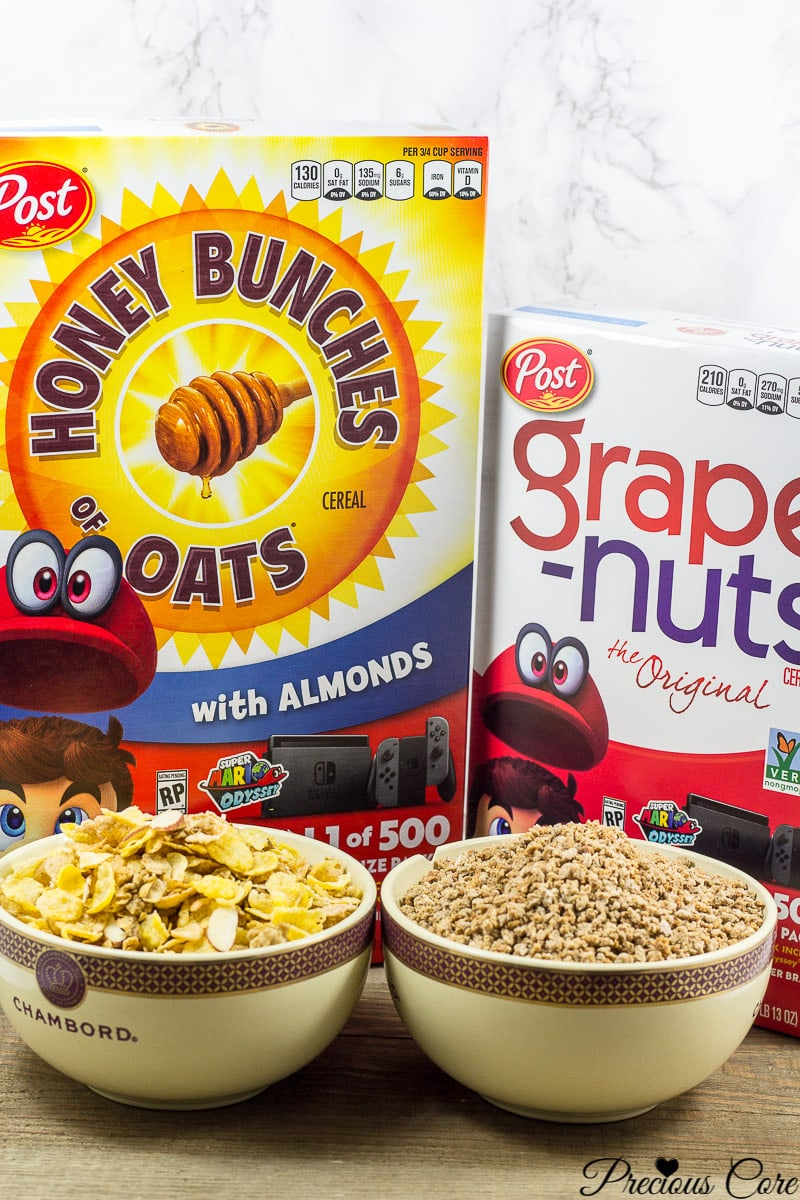 Honey Bunches of Oats with Almonds and Grape Nuts