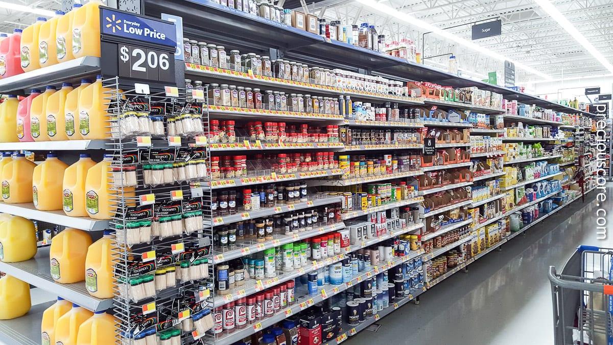 Spice aisle