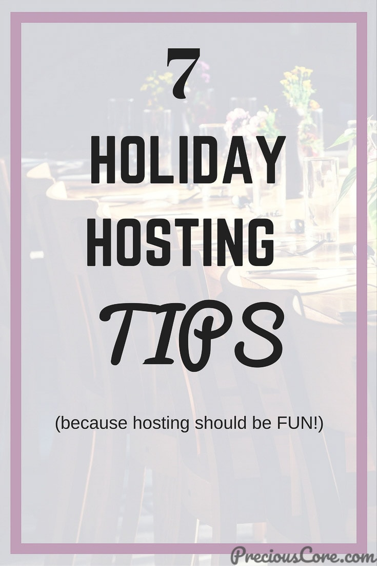 Learn 7 ways to take the stress off holiday hosting. With these holiday hosting tips, you can relax and enjoy an awesome tip with your guests. #Holidays #GPHolidayAtHome #Ad