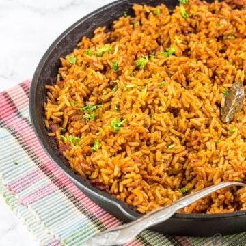 Oven-Baked Jollof Rice Recipe