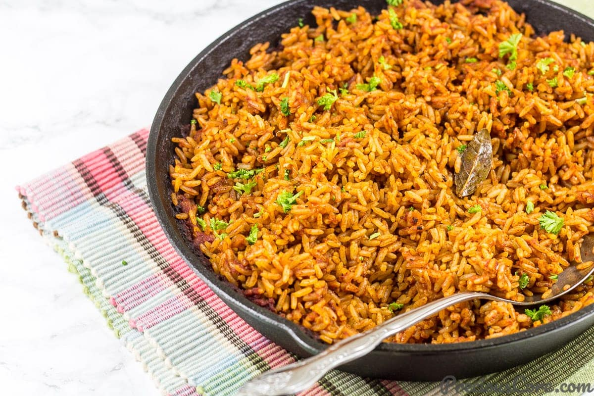 Oven-Baked Jollof Rice Recipe