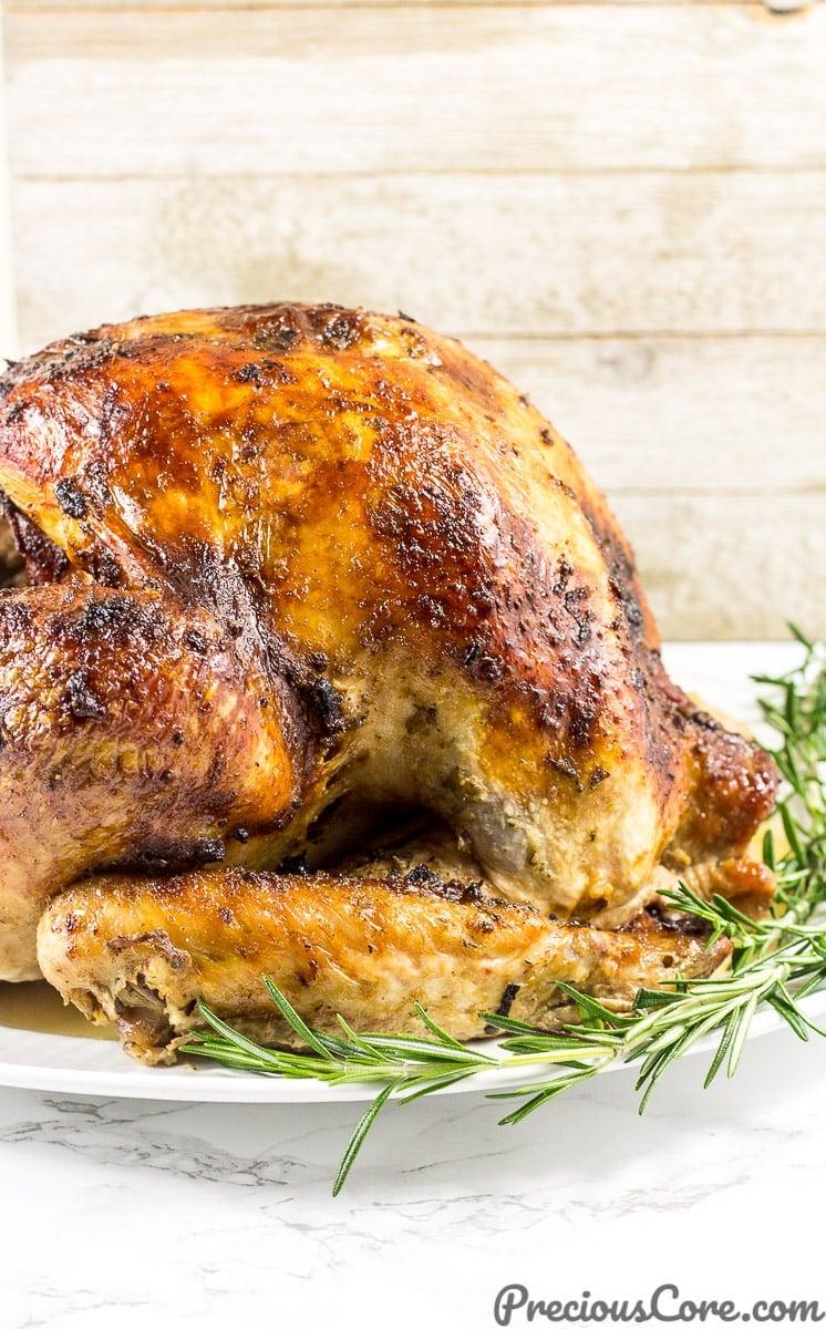 The best juicy roast turkey