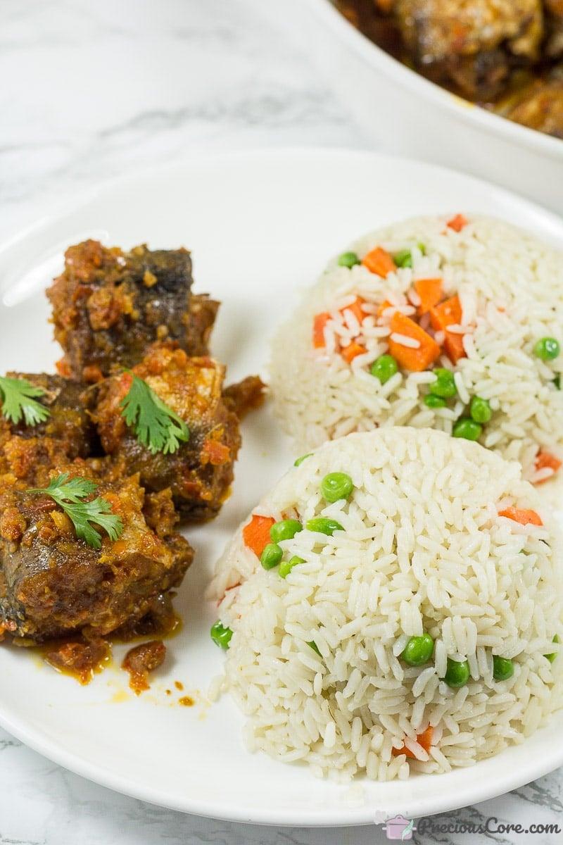 Nigerian Peppered Fish - Fish in Tomato Sauce