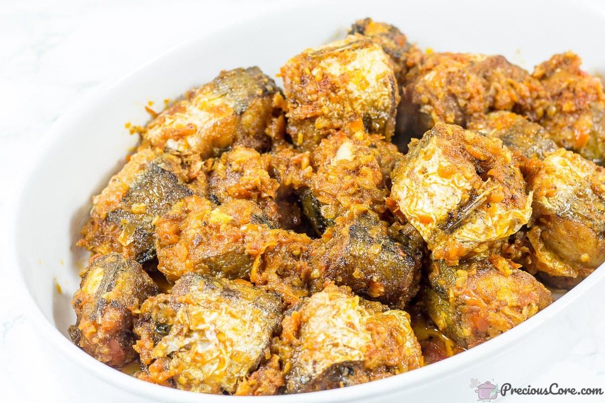 Nigerian Peppered Fish recipe