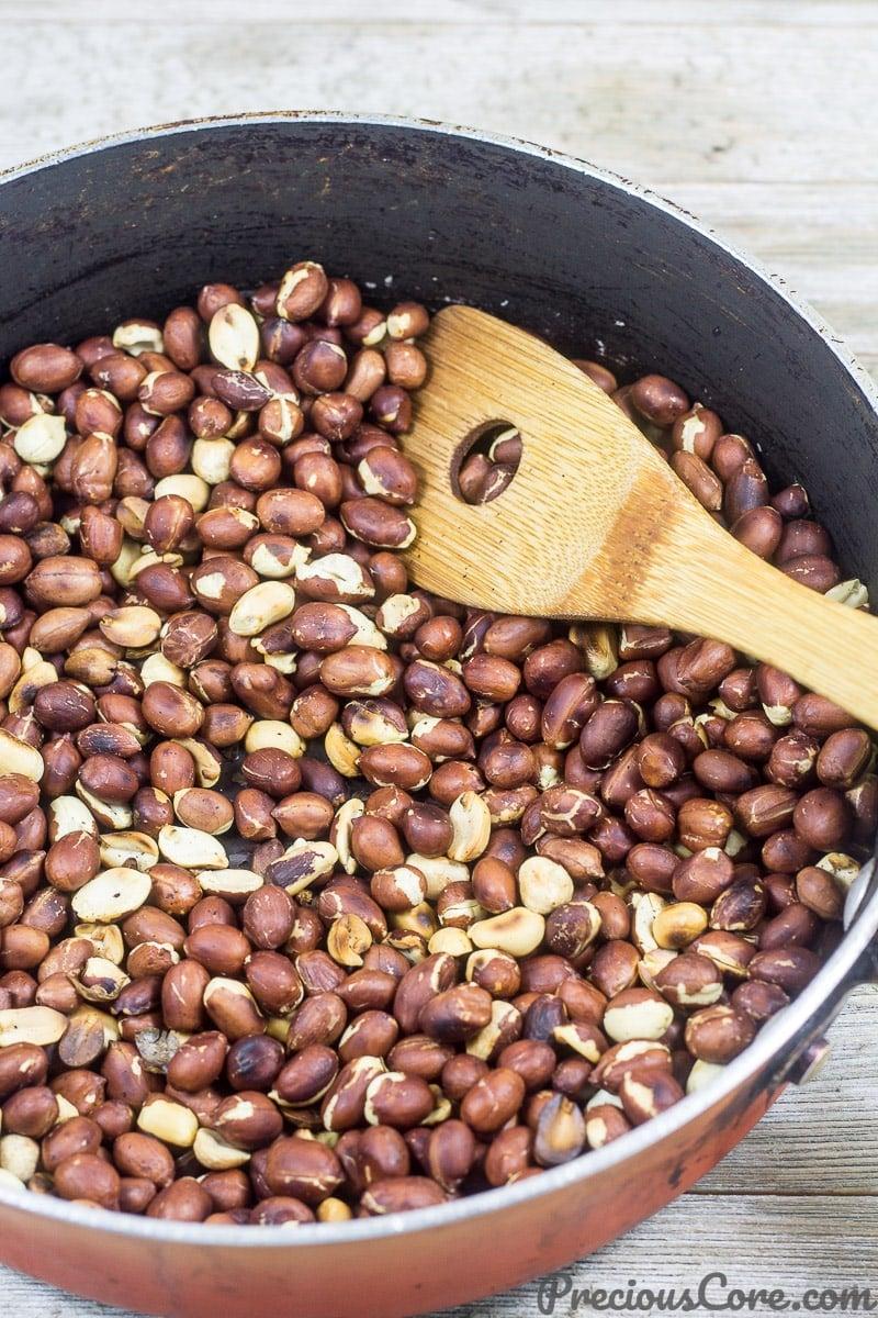 Groundnut Paste Step 1