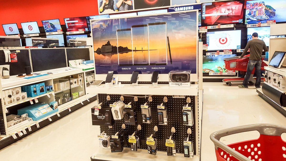 Samsung galaxy Note 8 at Target