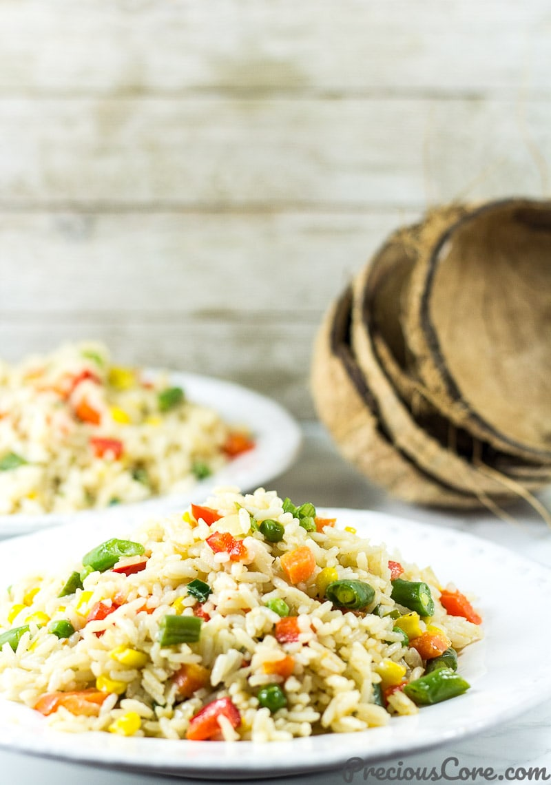 Coconut Fried Rice recipe