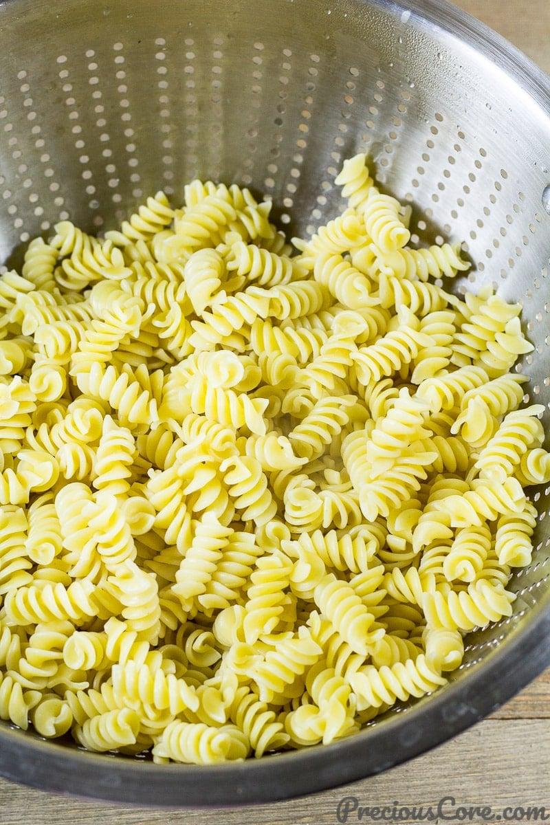 Macaroni and Chicken dinner recipe step 1