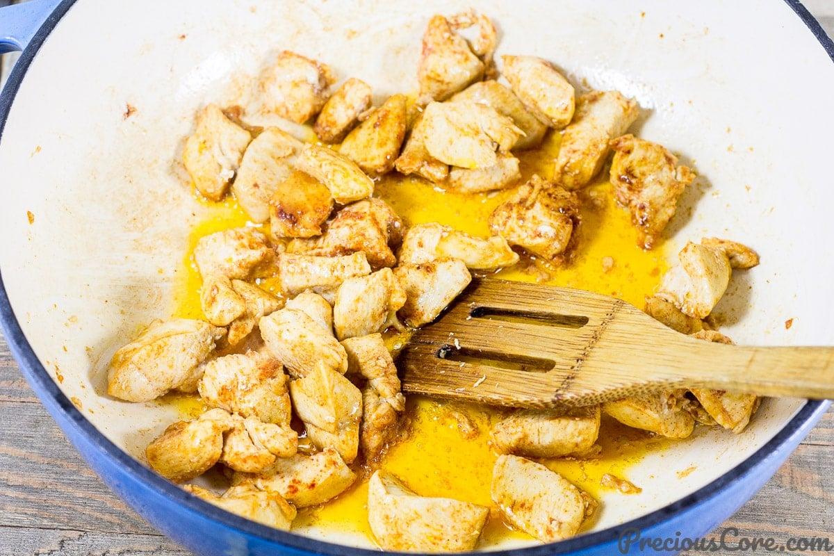 Macaroni and Chicken dinner recipe step 2