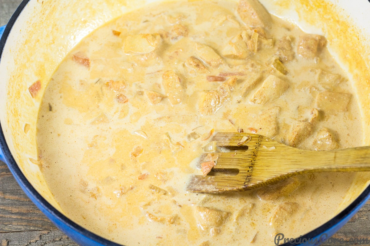 Macaroni and Chicken dinner recipe step 4