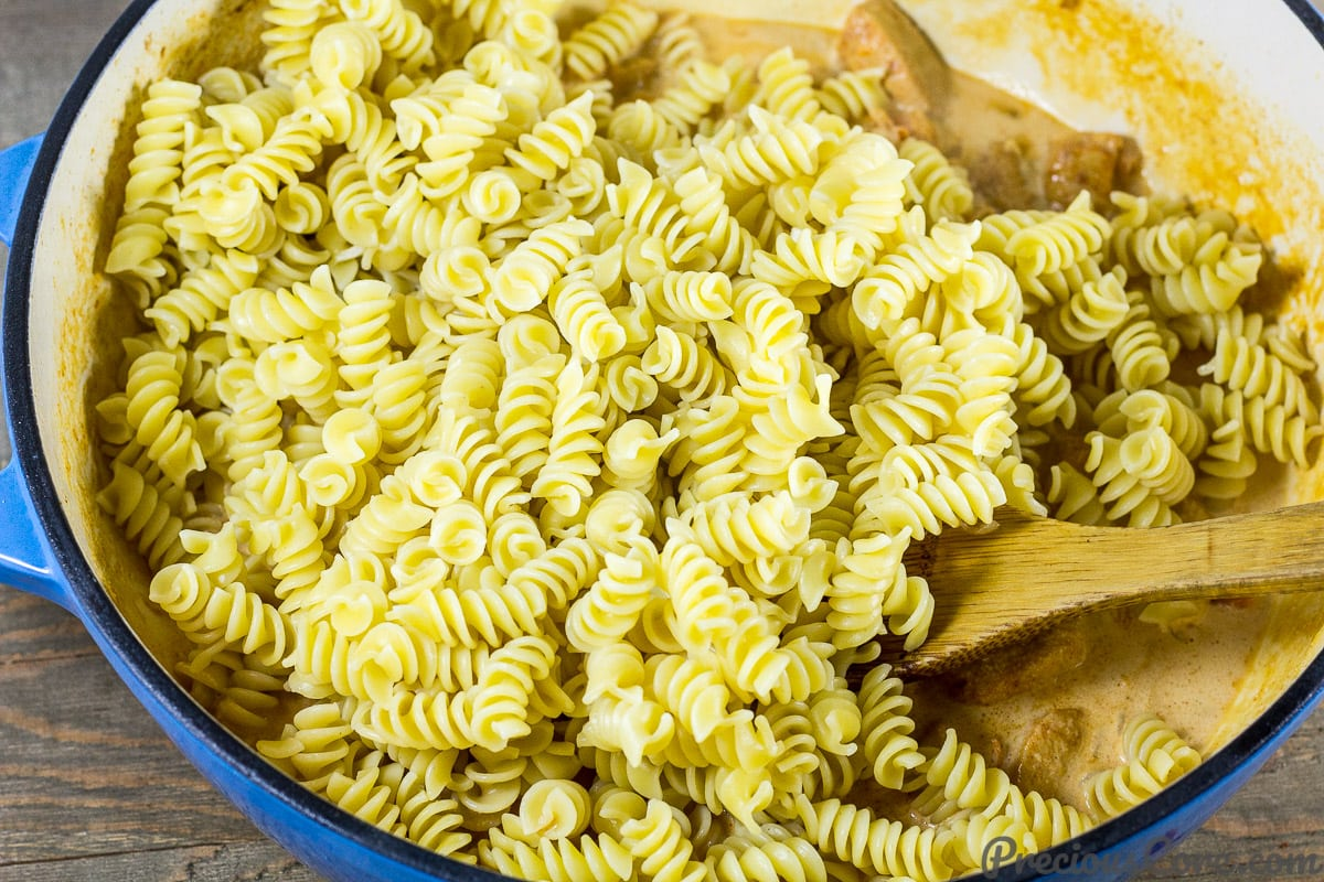 Macaroni and Chicken dinner recipe step 6