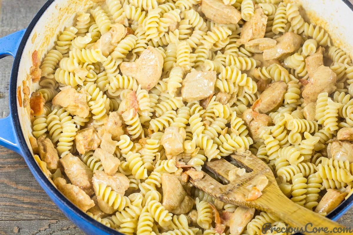 Macaroni and Chicken dinner recipe step 7