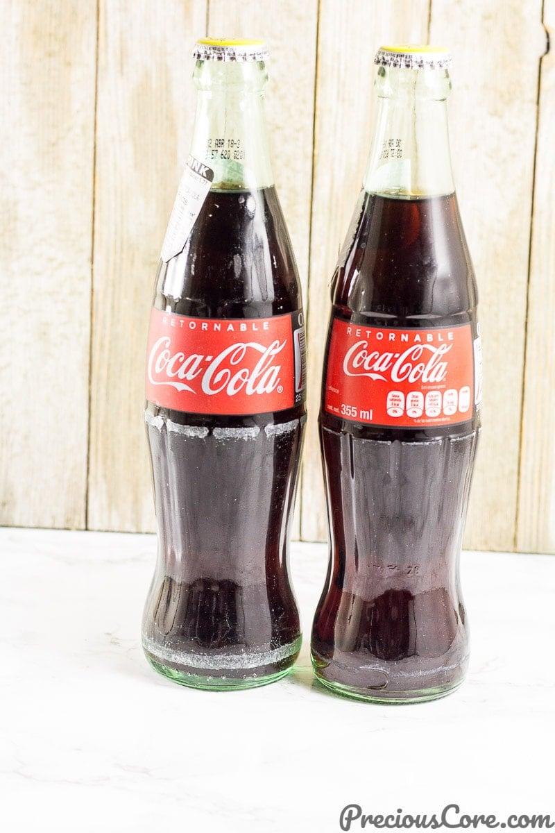 Coca- Cola 12oz glass bottles