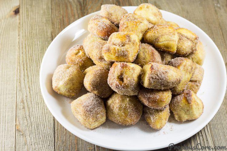 Recipe for Cinnamon Sugar Pretzel Bites