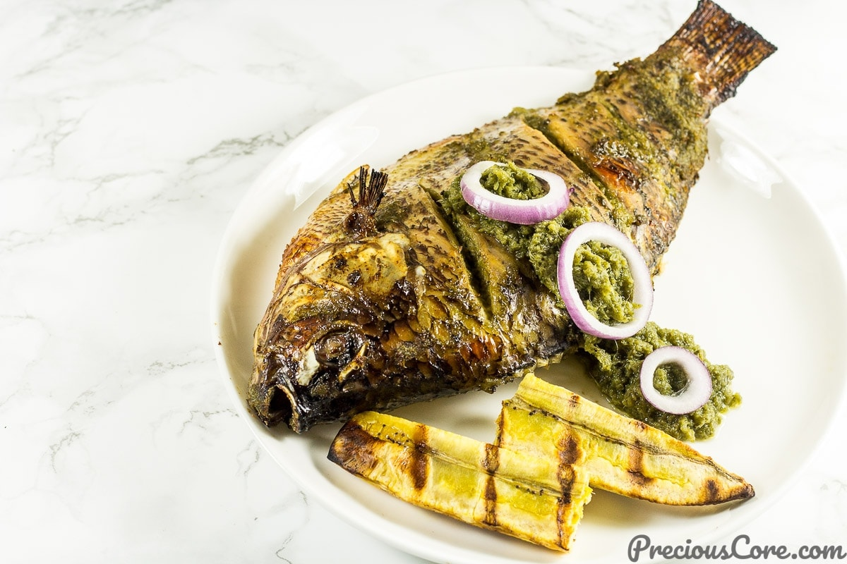 Oven Grilled Tilapia recipe