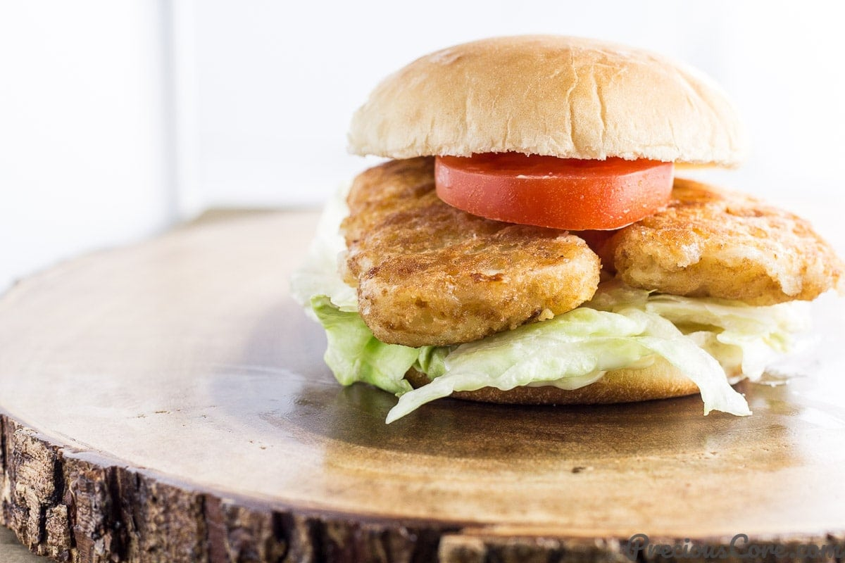 Easy fish sandwich recipe