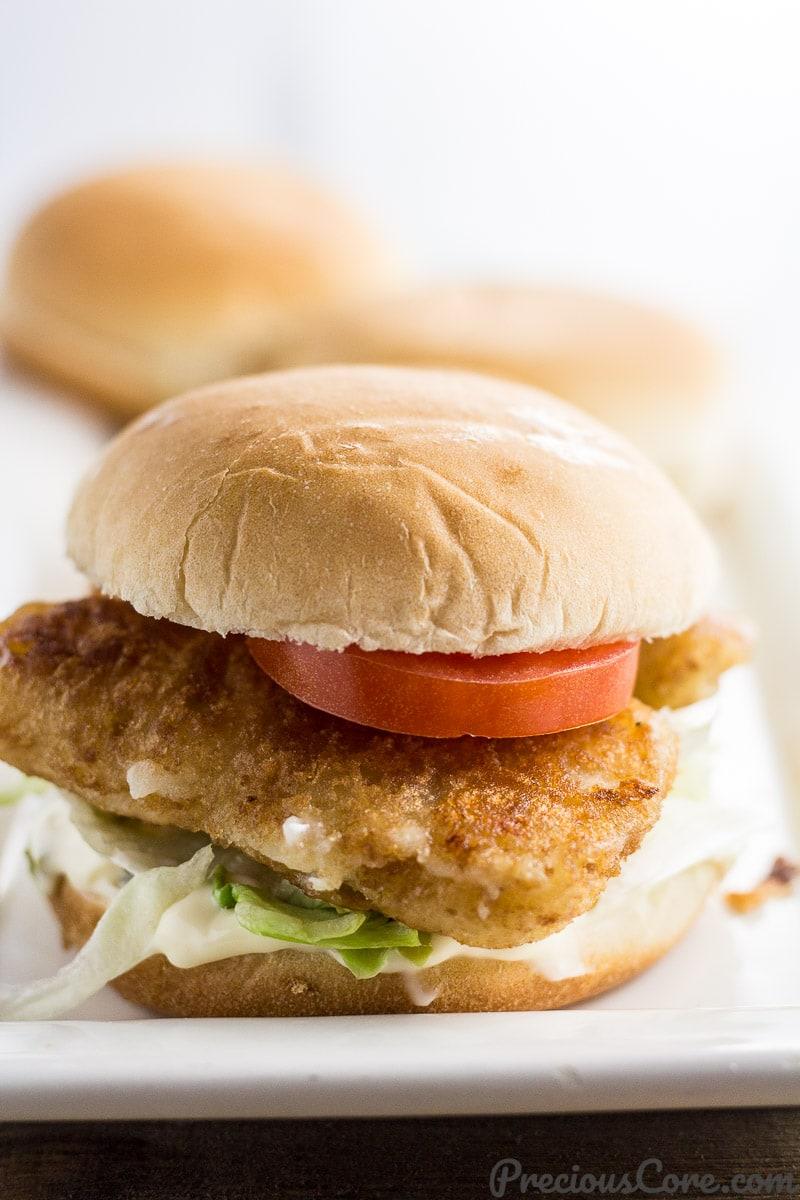 Easy fish sandwich recipe