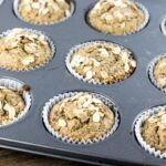Healthy Banana Oat Muffins - simple one bowl recipe.