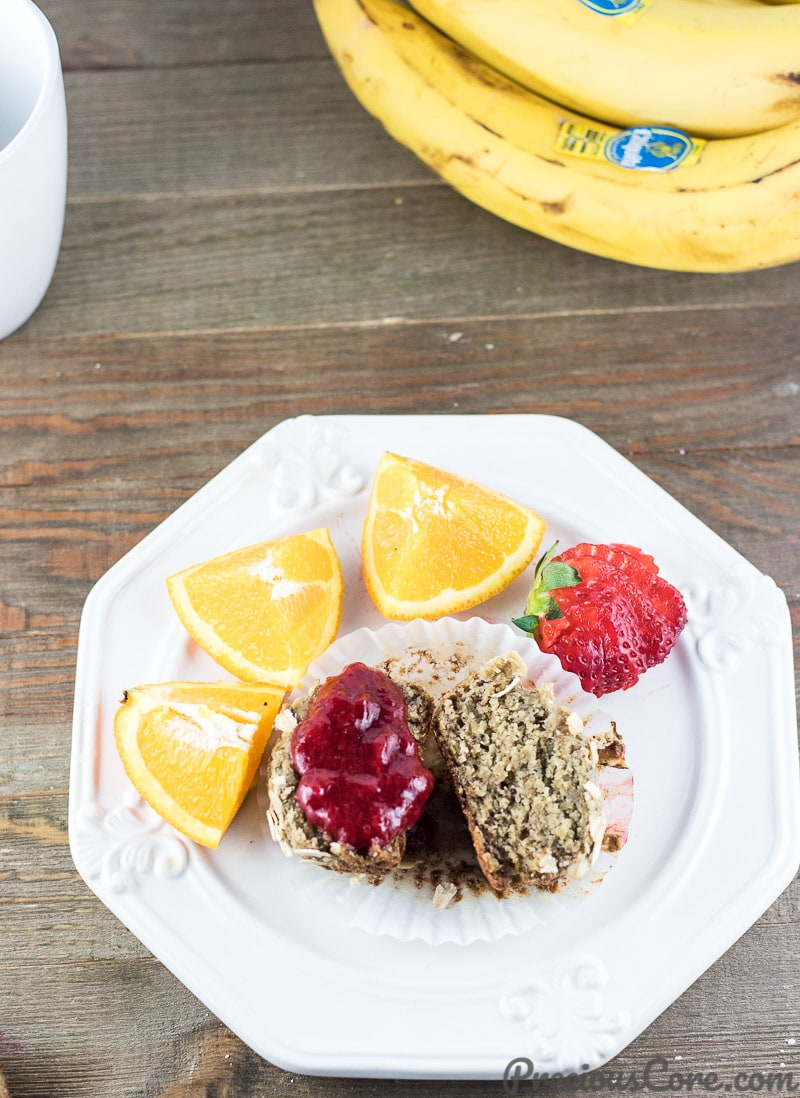 Healthy Banana Oat Muffins - Healthy Breakfast Recipe