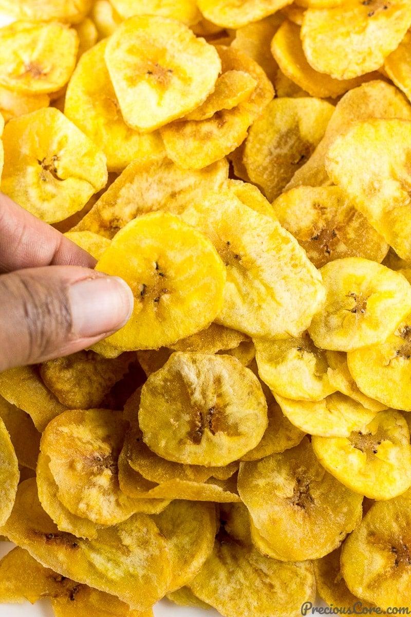 Homemade Plantain Chips Recipe