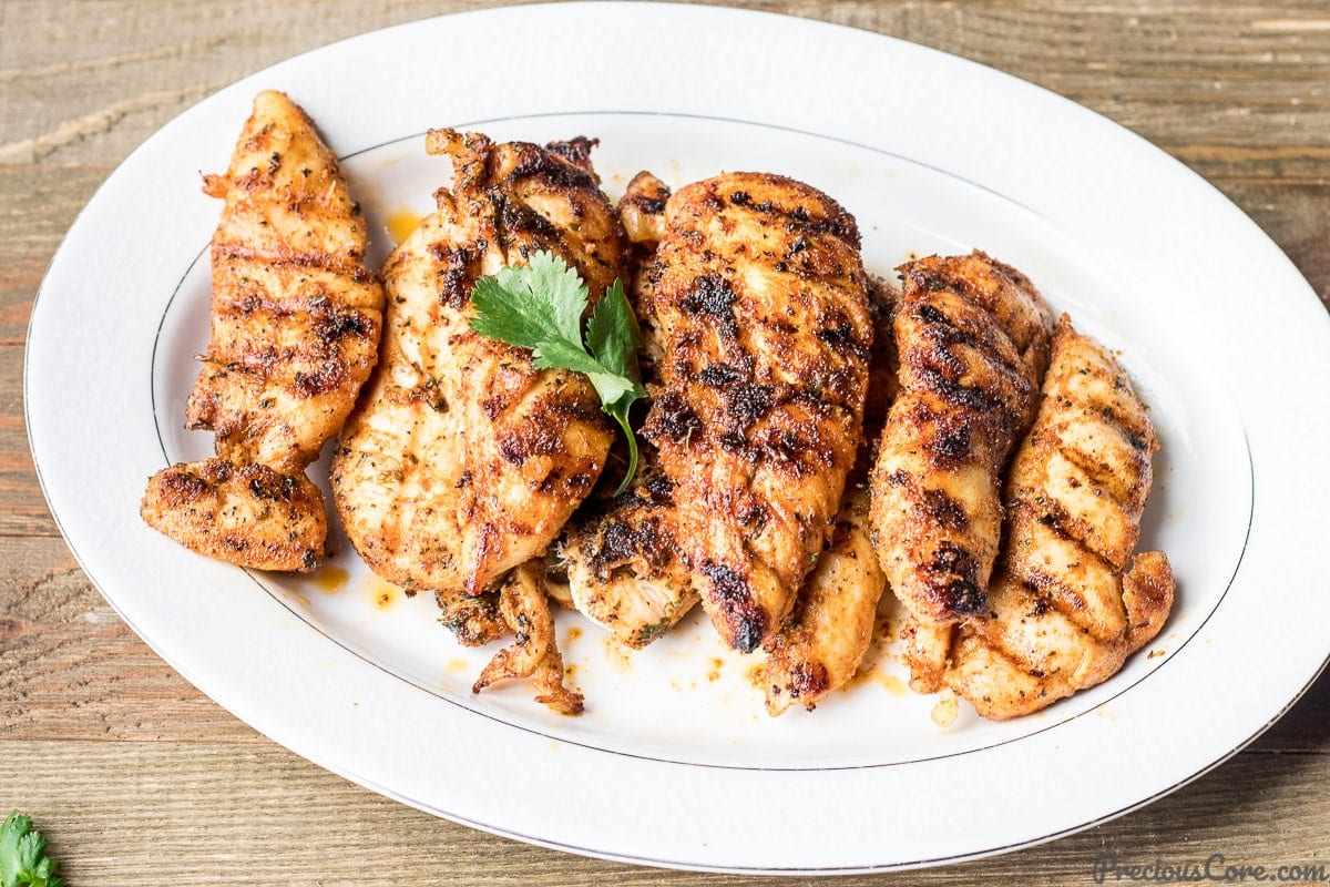Recipe for grilled chicken tenders