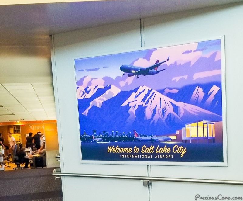 Welcome to Salt Lake City notice