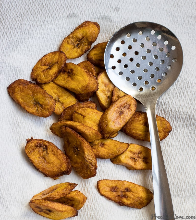 perfect sweet fried plantains