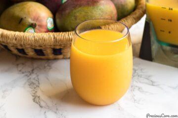 Homemade Mango Juice Recipe