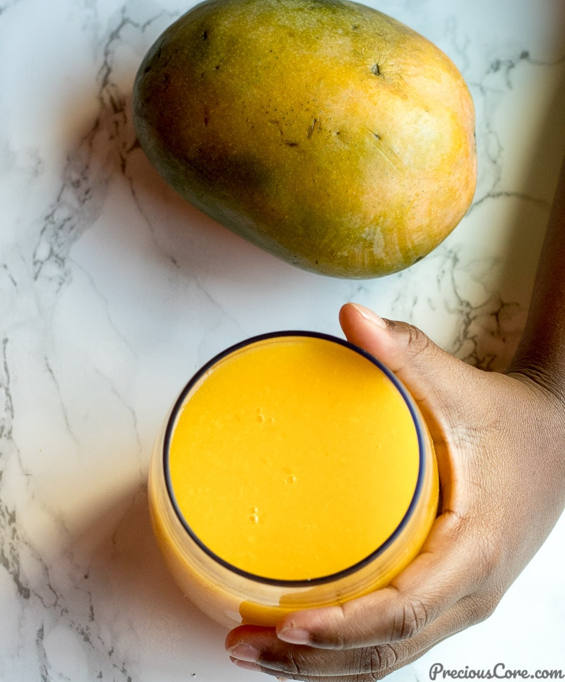 Homemade Mango Juice