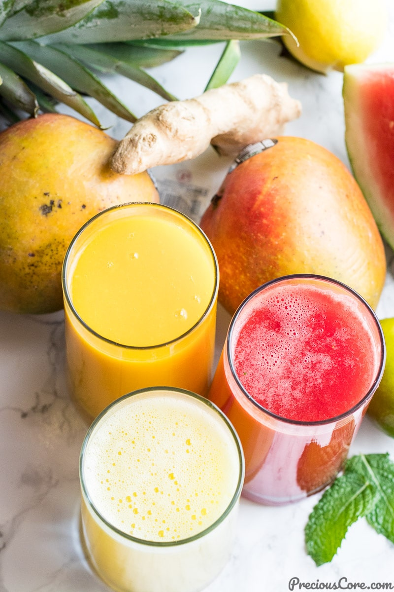Healthy Juice Recipes - Homemade