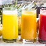 3 HEALTHY JUICE RECIPES (VIDEO)