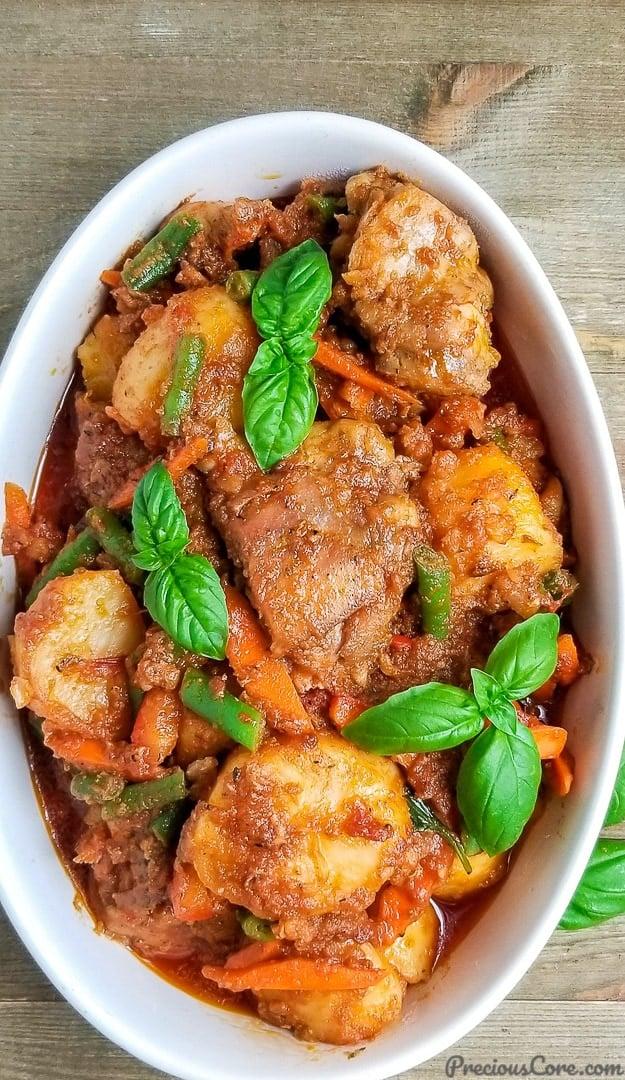 potato hotpot