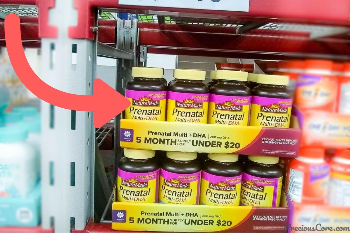 Prenatal Vitamins at Sam's Club