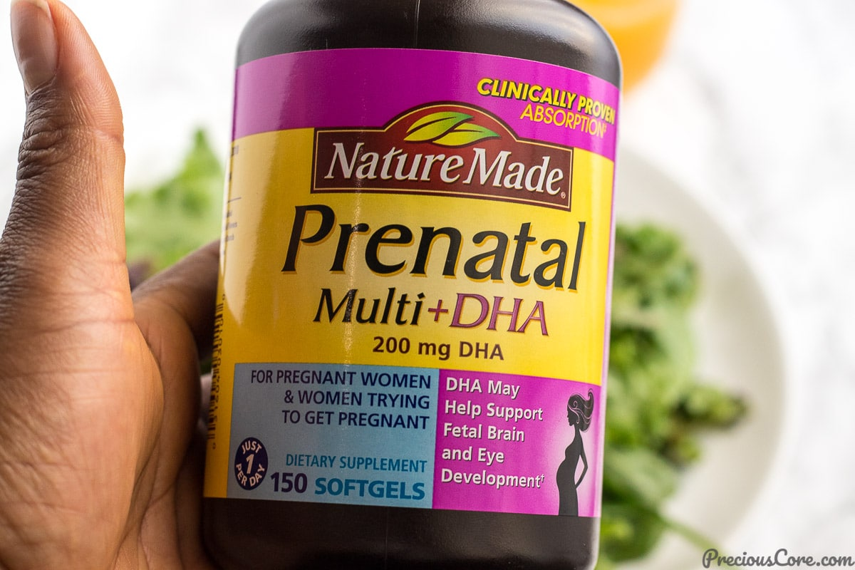 Nature Made prenatal vitamin review