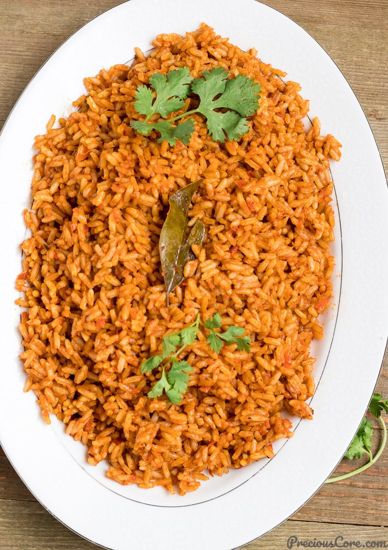 Authentic Jollof Rice