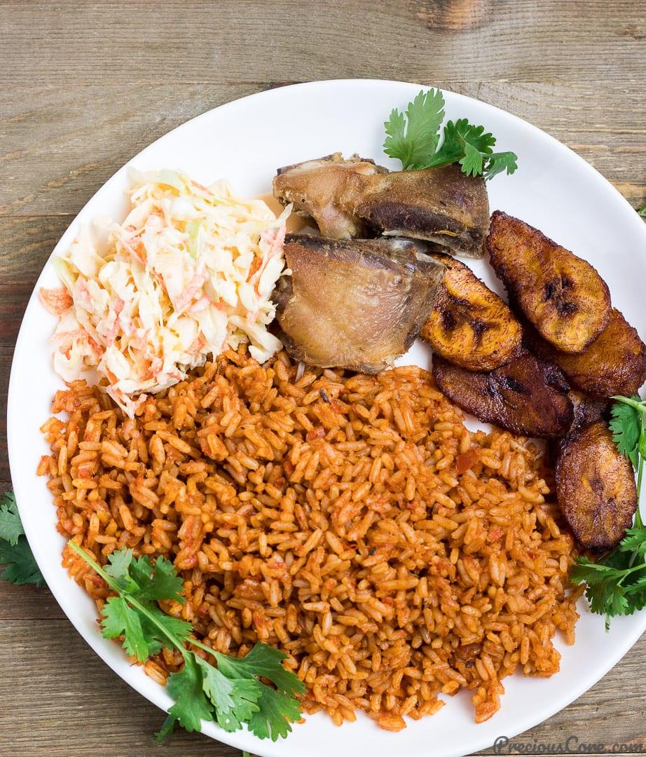 Jollof rice with chicken recipe | BBC Good Food  |Chicken And Jollof Rice