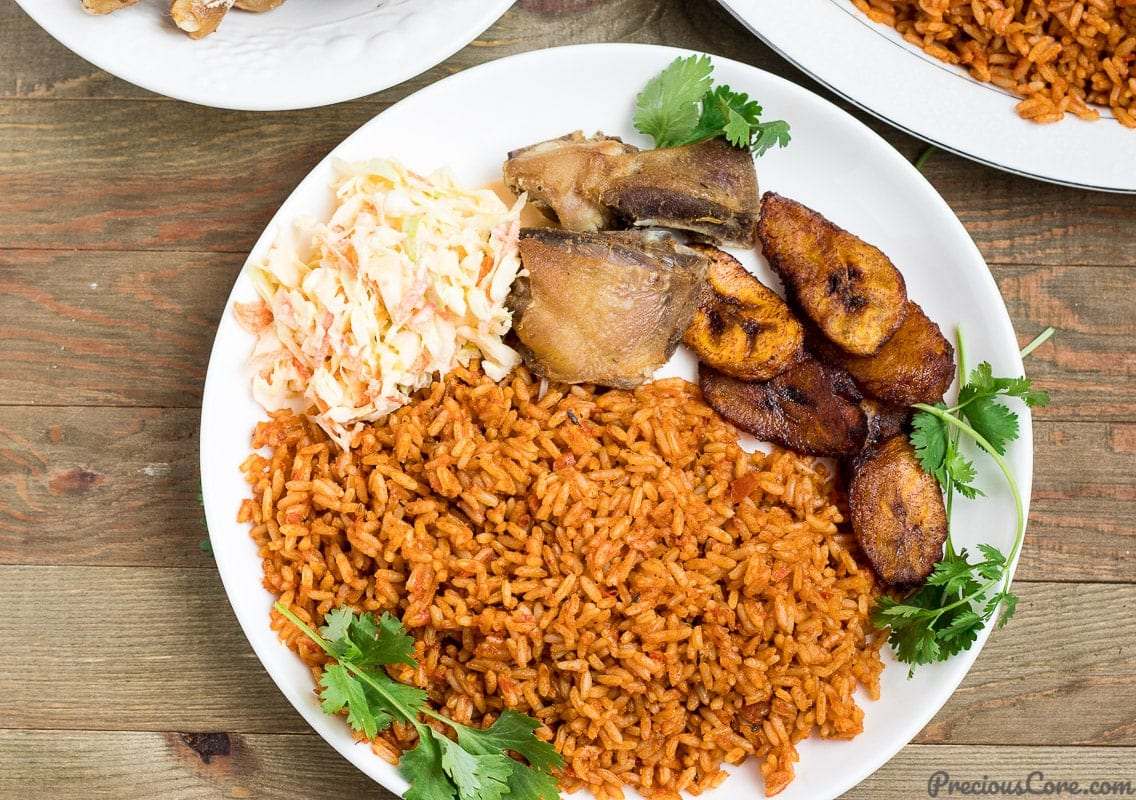 Billedresultat for nigerian Jollof Rice